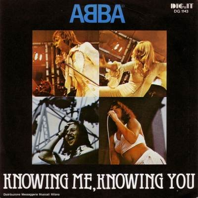 ABBA(минус) - Knowing Me, Knowing You