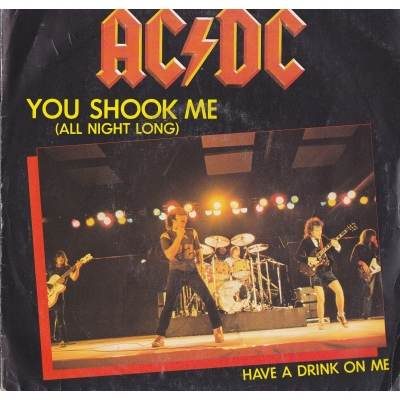 ACDC - You Shock Me All Night Long