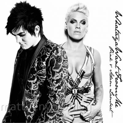 Adam Lambert feat Pink - What do you want from me