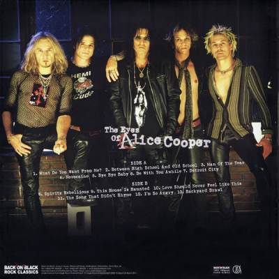Alice Cooper - What Do You Want From Me ?
