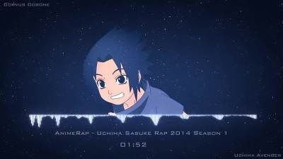 AnimeRap - Uchiha Sasuke Rap 2014 Season 1