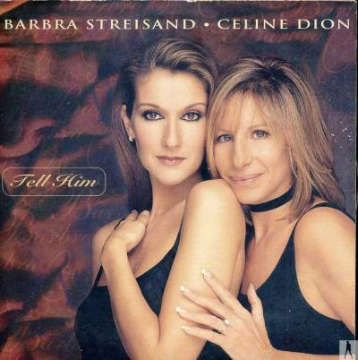 Barbra Streisand and Celine Dion - Tell him