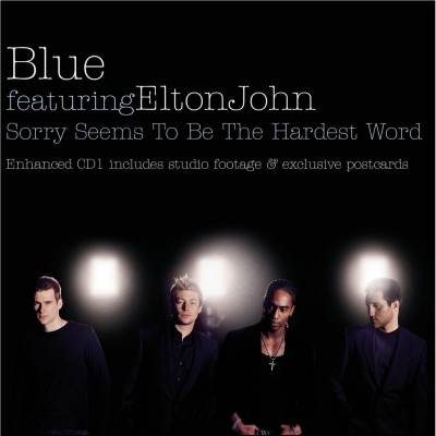 Blue feat. Elton John - Sorry Seems To Be The Hardest Word [минус]