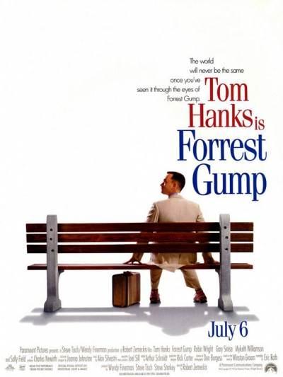 personal response forrest gump film 1