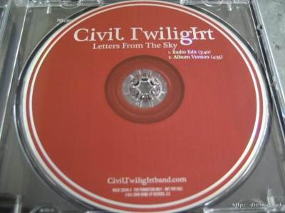 Civil Twilight - Letters from the Sky  (OST I Am Number Four)