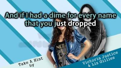 Elizabeth Gillies feat. Victoria Justice - Take A Hint (Instrumental)