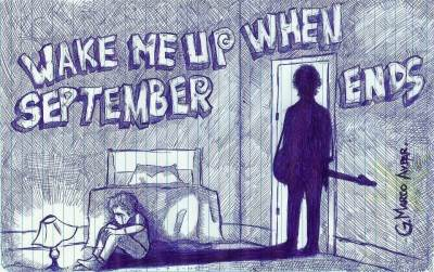 GreenDay - Wake Me Up When September Ends