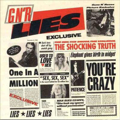 Guns N' Roses - G N' R Lies (1988) - One In A Million