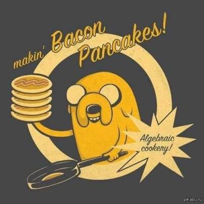 Jake - Bacon Pancakes (Adventure Time Cover)