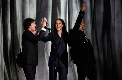 Rihanna, Kanye West, Paul McCartney - FourFiveSeconds (Live at 57th GRAMMYs)