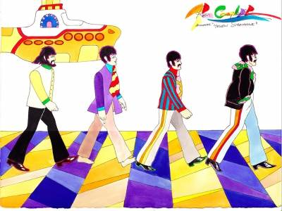 The Beatls - Yellow submarine